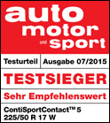 Test continental contisportcontact 5